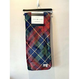 New Tommy Hilfiger Red Blue Plaid Christmas